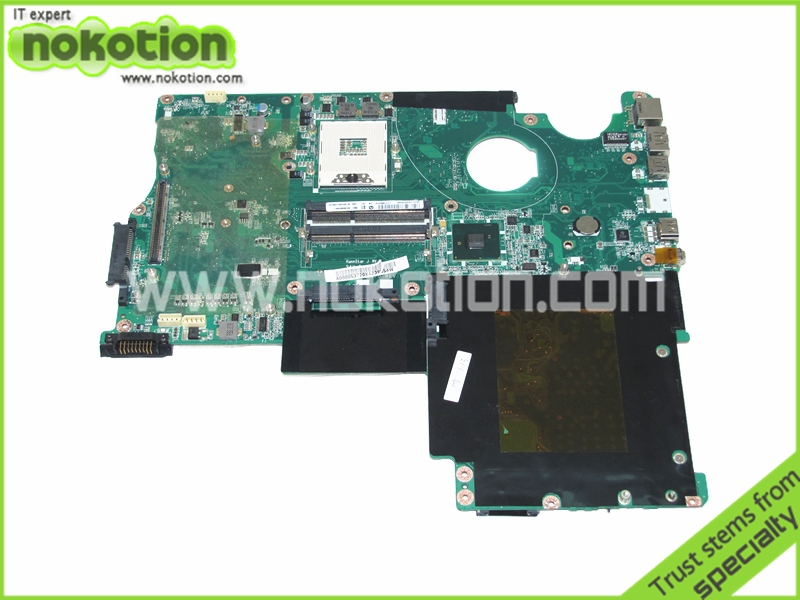 все цены на NOKOTION A000053720 laptop motherboard for Toshiba Qosmio X500 P505 X505 PM55 DDR3 with graphics slot Mianboard Logic boards онлайн