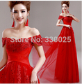 Red Evening Dress 2017 Bride Married Long Formal Prom Dress Party Dresses Wedding Party Plus Size Lace Beading Sexy Custom Made