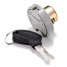 1SET Scooter Gas Fuel Tank Cap Cover Lock Stainless Steel Shell Alloy Key For GY6 4-Stroke 139QMB TAOTAO BAJA SUNL BAOTIAN 9ER baja baja body shell cover army