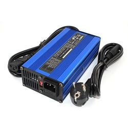 87.6 V 2A LiFePO4 ładowarka do akumulatorów 24 S 72 V LiFePO4 akumulator inteligentne ładowanie Auto-Stop