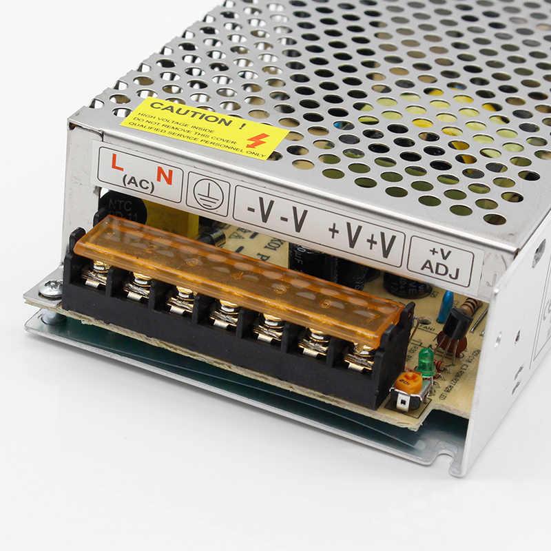 1 sztuk AC 110 V-220 V do DC 5V 12V 24V 1A 2A 3A 5A 10A 15A 20A 30A 50A przełącz zasilanie Adapter taśmy LED światła