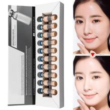 New 5ml *10 Skin Glow Cream Meso White Brightening Shrink Pores Repair Serum Natural Nude Concealer Make Up Residency Foundation все цены