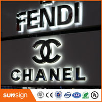 Wholesale Advertising Waterproof Illuminated Letters