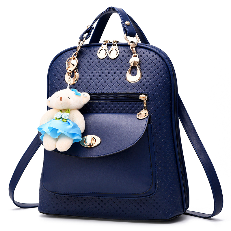 Mochila Feminine Women Backpack Female Backpacks For Teenage Girls escolar Bagpack leather fashion Bag sweet Shoulder student