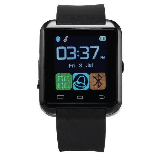 أسود ساعة ذكية تعمل باللمس TFT شاشة الكريستال السائل ساعة يد بسيطة للماء عارضة ساعة معصم للرجال والنساء دروبشيبينغ