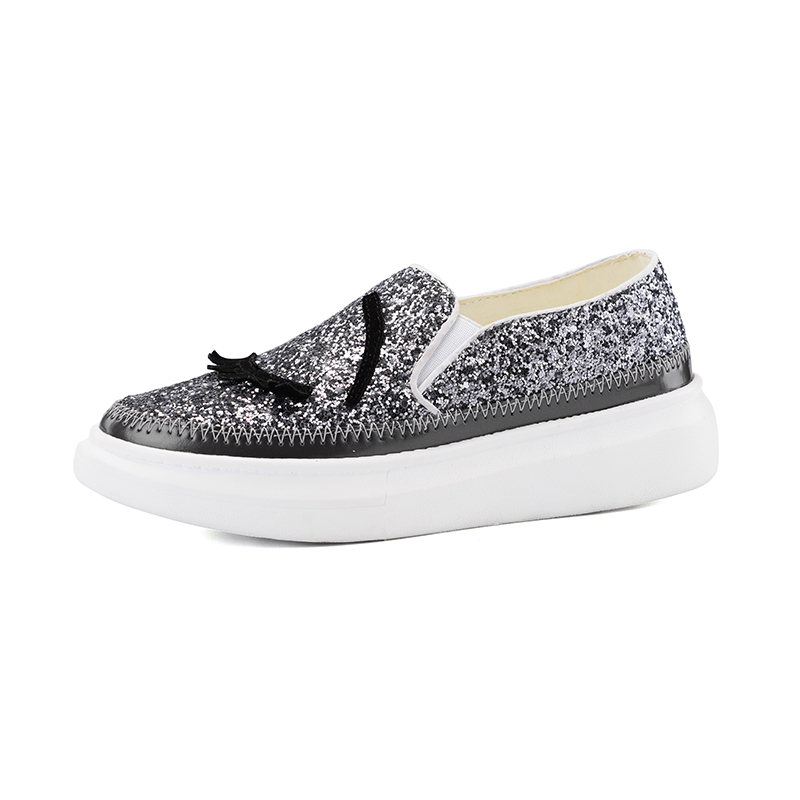 ФОТО 2017 New Women Flat Glitter Eyelash Shoes Espadrilles Blink Eye Casual Shoes Lazy Loafers Chiara Ferragni Tenis Feminino