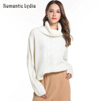 Oversize Sweater 2018 Winter Thick Plus Size Pullover Women Jumper Turtleneck Sweater Female Jumper Knitted