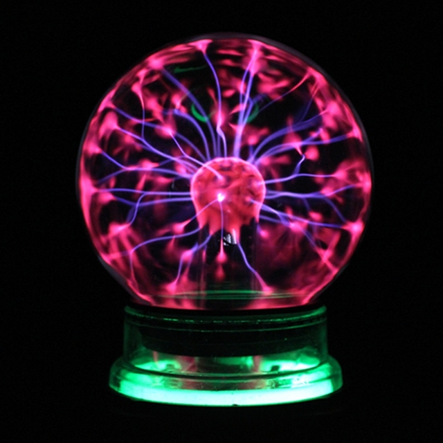 3 4 5 6 Inch Magic Plasma Ball Glass Christmas Balls Decorative Lava Lamp For Kid Novelty Lights Touch Sensor Sphere Night Light