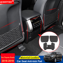 QCBXYYXH Car-styling Interior Seat Protector Side Edge Protection Pad Car Stickers Anti-kick Mat Fit For Toyota Prado 2018 2019