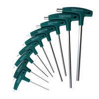 9PC T Griff Hex Allen Schlüssel Wrench Set Kopf Schlüssel 1,5mm-10mm oder Auto Bike Motorycle handwerkzeuge Set