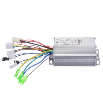 Electric Bike Accessories Brushless DC Motor Controller 36V/48V 350W For Electric Bicycle E-bike Scooter High Quality 48v 60v dc 500w electric tricycle brushless dc gear motor 2800rpm e tricycle accessories bm1418zxf for tricycle motocycle car