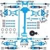 WLtoys juego completo de piezas de mejora para coche eléctrico de control remoto, Buggy todoterreno, repuesto de Metal, A959 B, A969 B, A979 B, 1/18