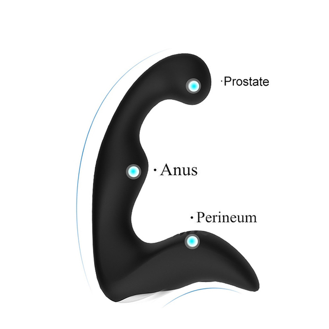 Hot Powerful Anal Plugs Vibrator 7 Speeds Vibrators Adult Sex Toys Masturbator G Spot Vibrators Anal Plug For Men And Women