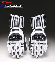 SSPEC Carbon Fiber GP PRO Motorcycle Gloves Outdoor Sports Cycling Road Racing Driving Gloves Full Finger