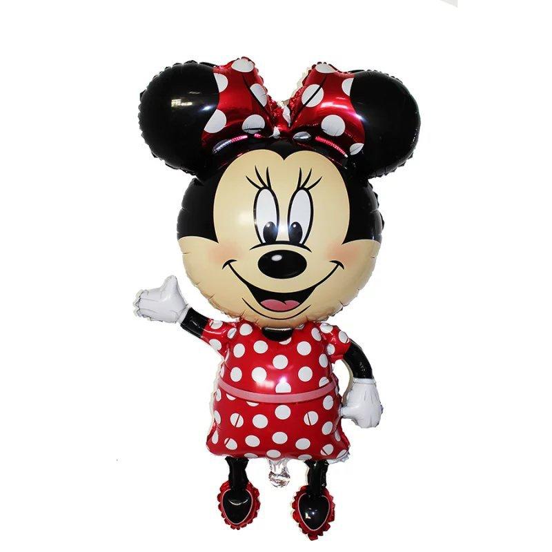 Все манеры Микки Минни воздушные шары на день рождения надувные декорации для вечеринки воздушные шары Детские Классические игрушки мультфильм шляпа - Цвет: 3