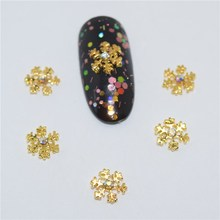 Beleshiny 10pcs Manicure white Rhinestone 3D Nail Art Decoration,Alloy Nail Charms,Nails Glitter Rhinestones Nail Supplies SS579