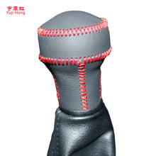 Yuji-Hong Car Gear Covers Case for Peugeot 207 307 308 408 KIA Cerato Manual Shift Collars Genuine Leather Hand-stitched Cover