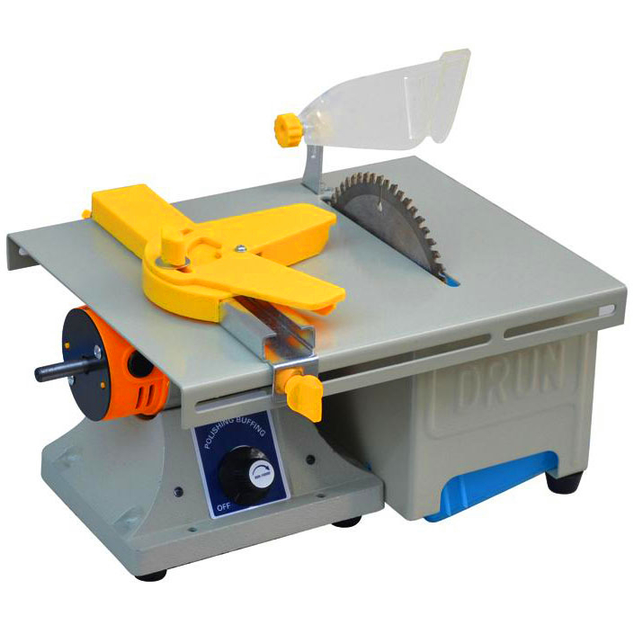DIY small table saw a miniature low noise household model making jade cutter woodworking circular saw blade 19 24v small bench saw low noise high torque for diy model use with50mm saw portable mini table saw