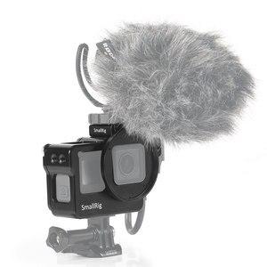Image 5 - Cage de montage pour GoPro HERO 7/6/5 avec sabot froid + Support de filtre 52mm + Support de processeur Audio 2320