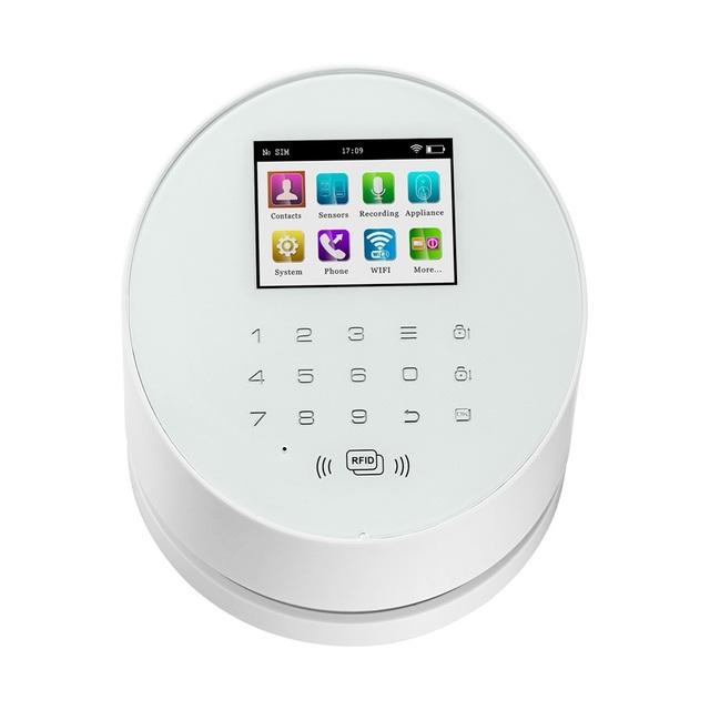 KERUI W2 WIFI NETWORK alarm IOS Android APP remote control WiFi GSM PSTN Burglar Home Security Alarm System