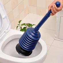 Blue Color Toilet Pump Closetool Sink Dredging Device Toilet Vacuum Sucker Toilet Plunger Cleaning Tool Bathroom Product