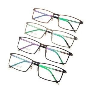 Image 5 - Gmei Optical LF2022 โลหะFull RIMกรอบแว่นตาสำหรับสตรีและผู้ชายแว่นตาแว่นตา