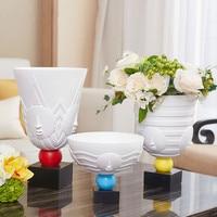 Abstract vase home decoration decoration table flower arranging gift Flower Pot Flower Pot Shapes