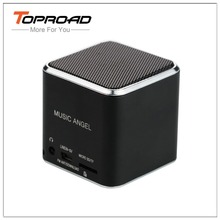 TOPROAD Music Angel Speaker Wired Boombox FM Radio Stereo Speakers Support TF Line In Caixa de Som for Smartphone Computer