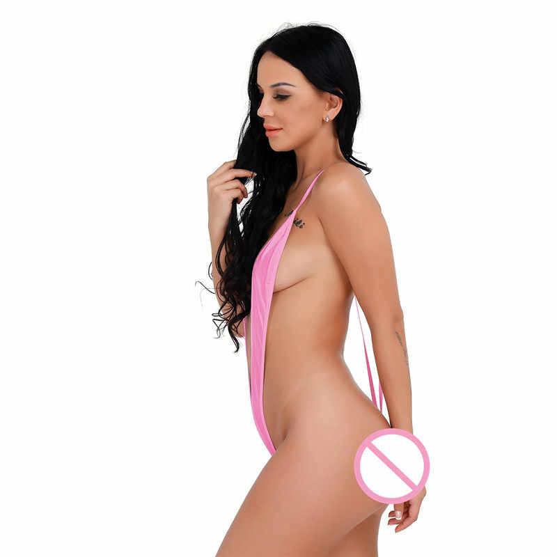 طقم سباحة حريمي بيكيني ثونغ ملابس السباحة g-سلسلة Monokini ملابس السباحة الشاطئ الملابس الداخلية الإناث السباحة ارتداءها الشاطئ ثوب السباحة