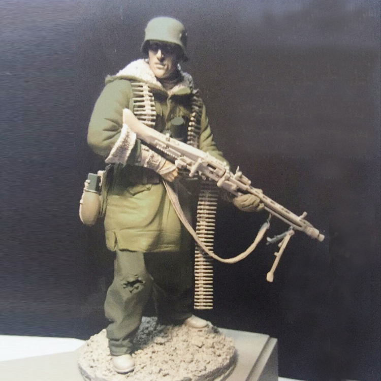 1/16 World War II Holdin Kharkov Front Soldiers Figures Resin