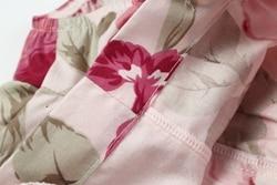 B2019037-3  Shijun Baby Clothing Little Model Top 100 Pant Cotton Cloth Vintage Floral Girl Short (9)__