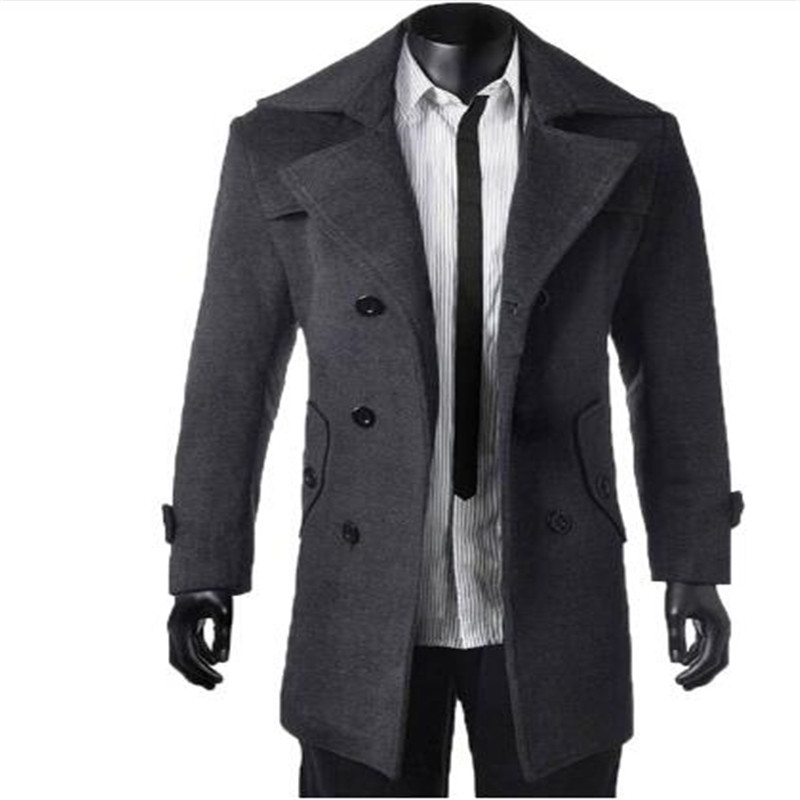 Online Get Cheap Long Peacoat Men -Aliexpress.com | Alibaba Group