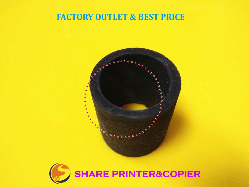 SHARE black rubber JC73-00265A for pickup roller JC97-01926A For Samsung ML 2250 2251 SCX4720F SCX5530FN 4824 2850 10 x brand new pickup roller jc97 02688a for samsung clp300 ml1641 1610 1640 2240 2241 2010 2510