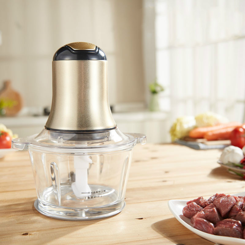 Meat Grinders USES an electric stainless steel stuffing machine to beat up цена и фото