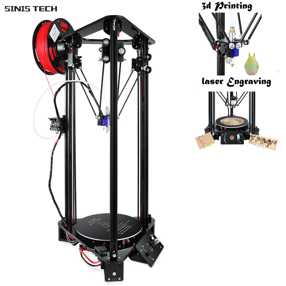 3d Printer DIY Kit i3 Aluminum & Acrylic Profile i3 Dducation Children Low Price Factory Price 1 Year Warranty and Free Shipping