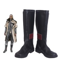 Detroit: Become Human Markus Cosplay Boots Black Shoes Custom Made Any Size