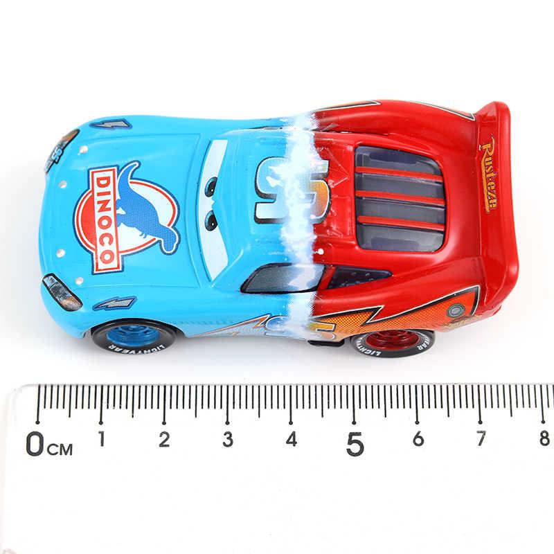 Disney Pixar Cars 2 Diecasts Mainan Fritter Lightning McQueen Jackson Badai Cruz Ramirez Logam Mobil Koleksi Hadiah Hadiah Natal