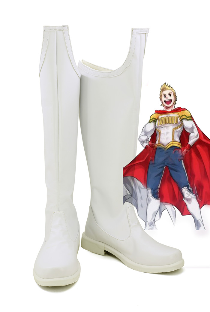 Boku no Hero Academia My Hero Academia Lemillion Mirio Togata Cosplay Boots Shoes customize  A533