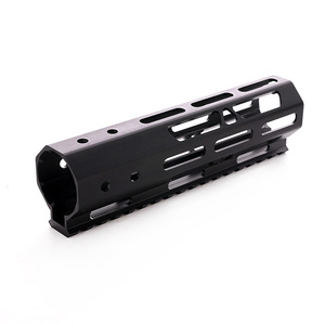Image 4 - AR15 M4 M16 MLOK táctica 7 pulgadas una pieza flotador libre Rifle guardamanos de montaje riel Picatinny soporte
