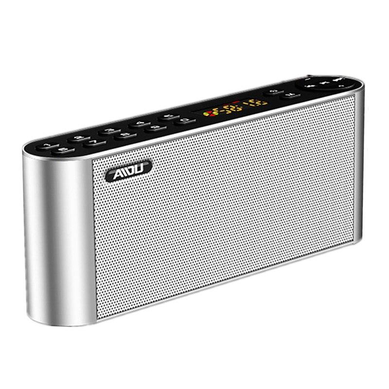 Nuevo altavoz portátil Bluetooth inalámbrico de alta definición altavoces duales con micrófono TF FM altavoces de Radio caja de sonido