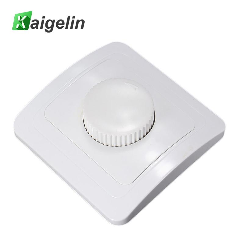 Concealed European LED Dimmer Switch 220V Adjustable Controller Dimmer Switch For LED Lamps