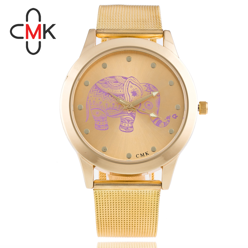 BGG New Fashion Gold Watch Casual Luxury Titanium Big Dial Wristwatch Women Stainless Steel Band Dial Quartz Watch Dress Clock rosra brand men luxury dress gold dial full steel band business watches new fashion male casual wristwatch free shipping