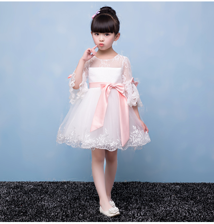 ФОТО Summer Girl Princess Dress for Party Wedding Flower Girls Dress