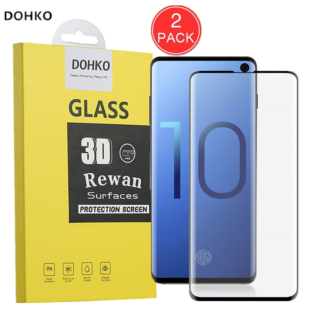 2 PACK For Samsung S10 3D Screen Protector Protective Film For Samsung S10 e Full Cover HD Tempered Glass For Samsung S10 PLUS2 PACK For Samsung S10 3D Screen Protector Protective Film For Samsung S10 e Full Cover HD Tempered Glass For Samsung S10 PLUS