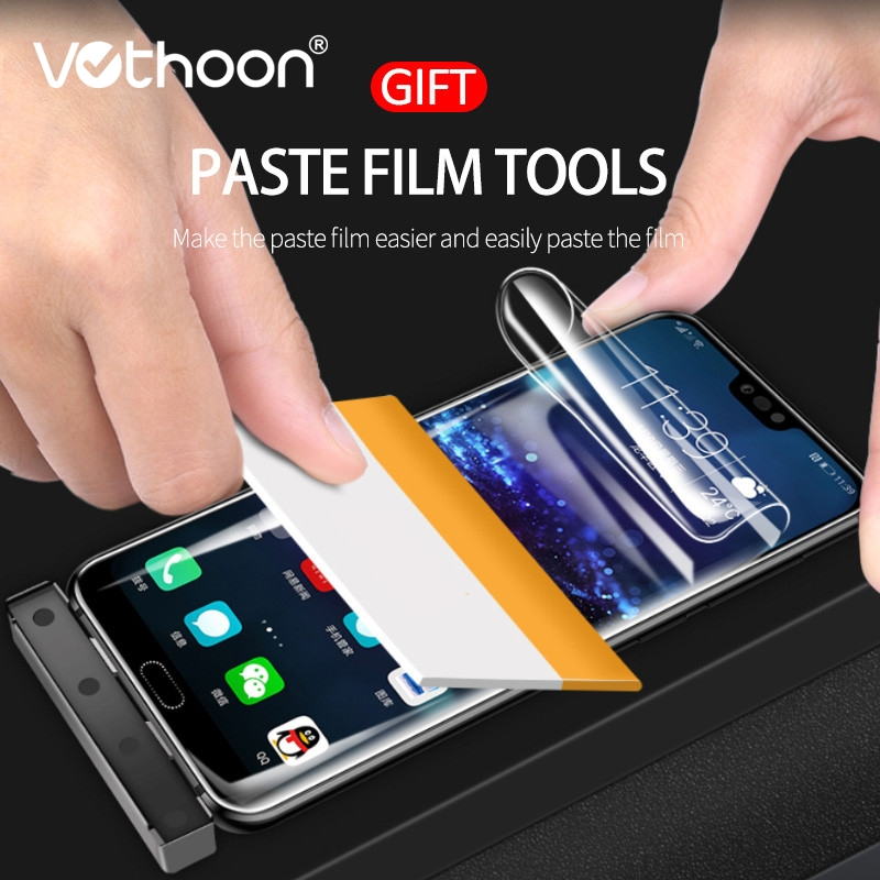 Vothoon Tender Hydrogel Movie For Huawei Mate 9 10 Professional P10 Plus Honor 9 10 Full Cowl Display screen Protector Movie For Huawei P20 Professional Lite