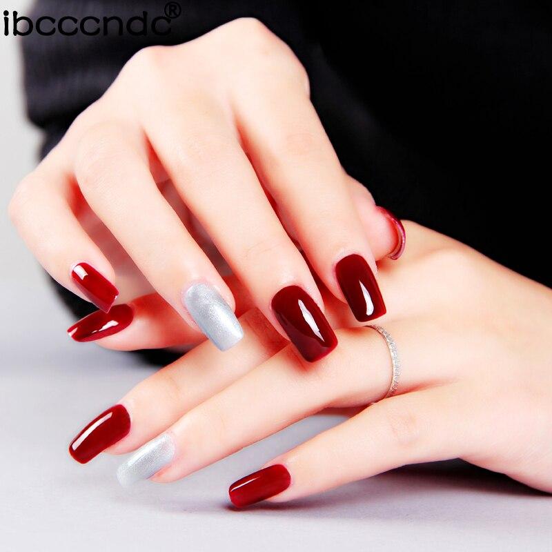 Simple Nail Art Set Manicure Tools Kit 36w Uv Lamp 2 Color 10ml
