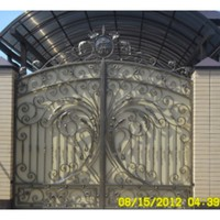 Wrought Iron Big Gates Wrought Iron Privacy Gates Wrought Iron Side Gates