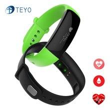 Teyo Smart Band M88 Приборы для измерения артериального давления сердечного ритма сна Мониторы Водонепроницаемый шагомер rastreador stappenteler SmartBand aandroid IOS