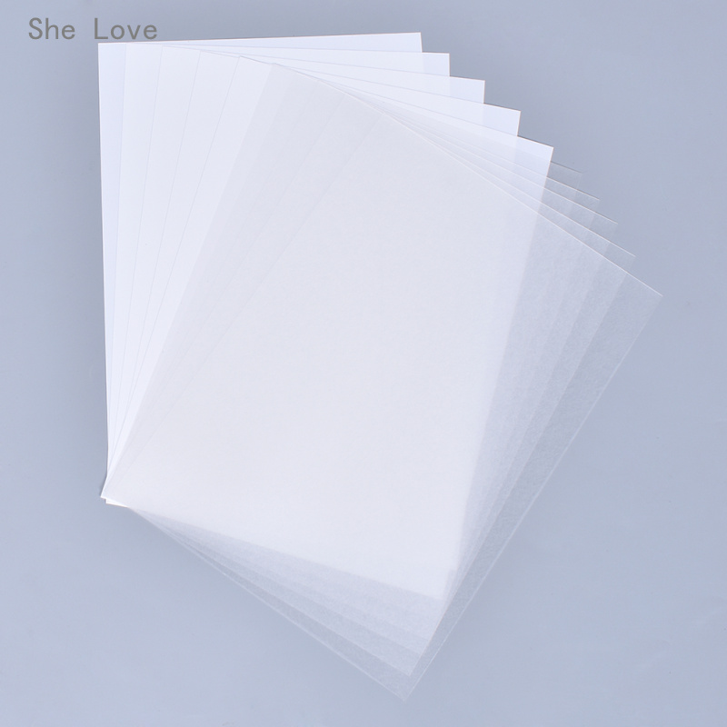 She Love 5 Sheets Printer Inkjet Shrinks Film A4 Plastic Sheet DIY Creative Decorating Printable Embellishments
