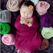 Newborn Photography Props Infant Costume Outfit Cotton Soft Photo Wrap Matching Baby Photo Props fotografia Hammock Kids Nubble(China)